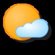 's Ochtends bewolkt/'s Avonds zon